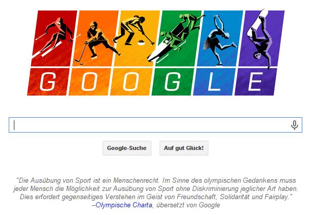 Die Ausübung von Sport ist ein Menschenrecht. Im Sinne des olympischen Gedankens muss jeder Mensch die Möglichkeit zur Ausübung von Sport ohne Diskriminierung jeglicher Art haben. Dies erfordert gegenseitiges Verstehen im Geist von Freundschaft, Solidarität und Fairplay. - Olympische Charta, übersetzt von Google